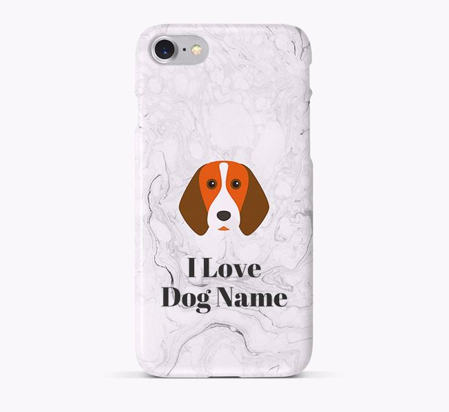 'I Love ' Phone Case with Beagle Icon