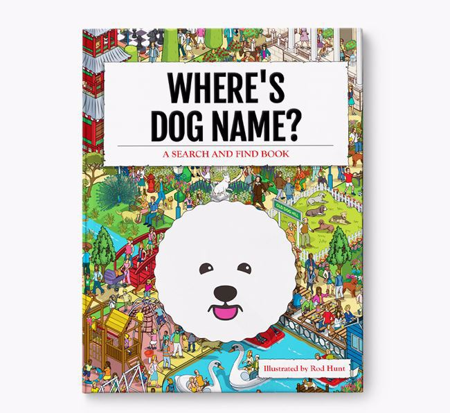 Personalised Where's  Book