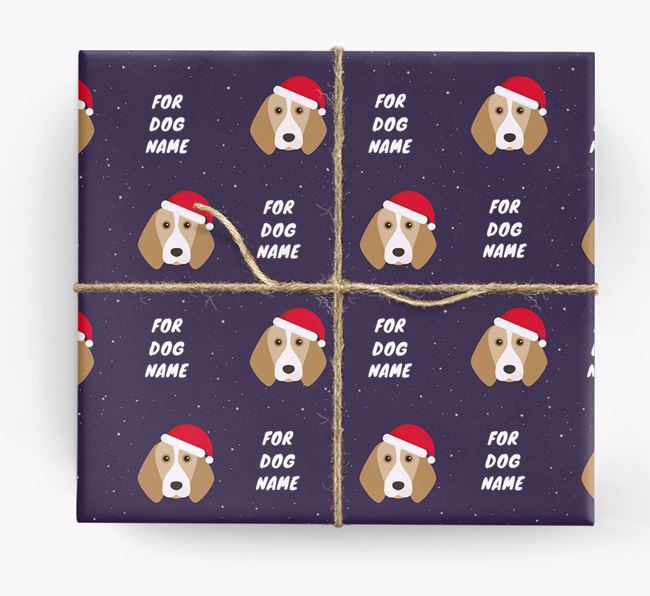Christmas Wrapping Paper for your Beagle
