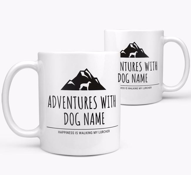 'Adventures with ' Personalized Mug