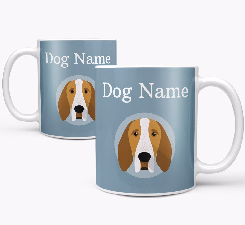 Bracco Italiano Mug both views