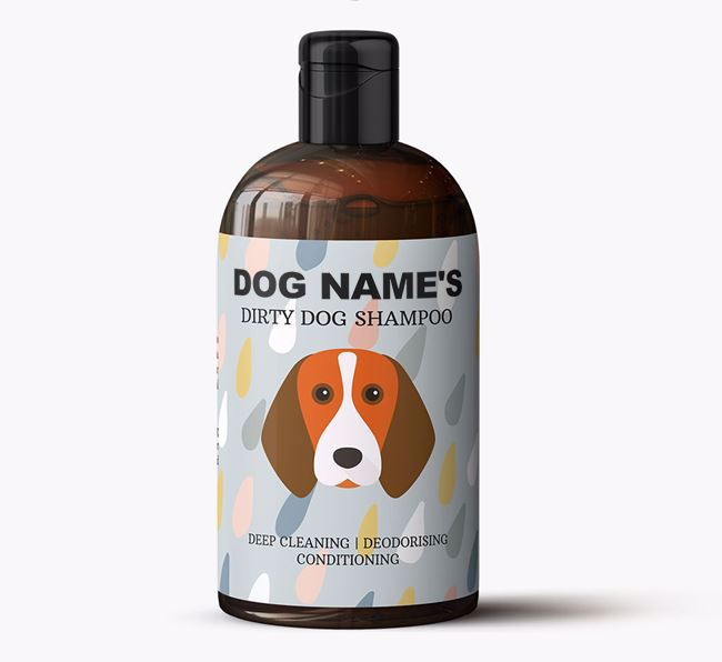Personalised 'Dirty Dog' Shampoo for