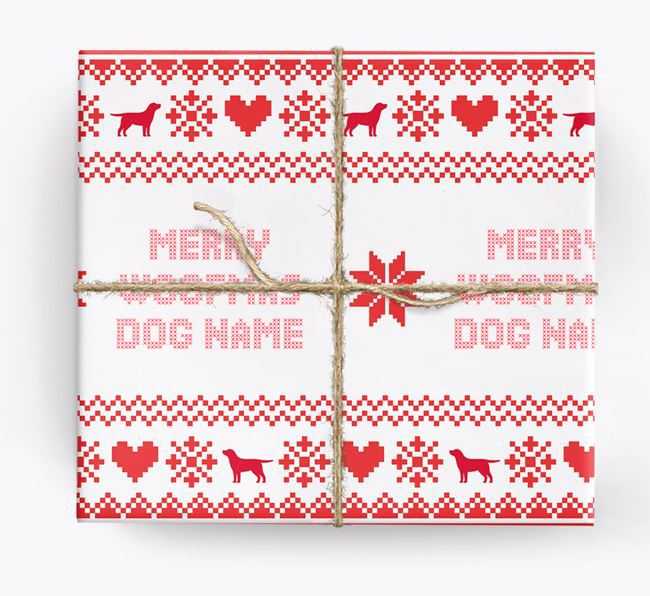 Nordic Jumper Wrapping Paper