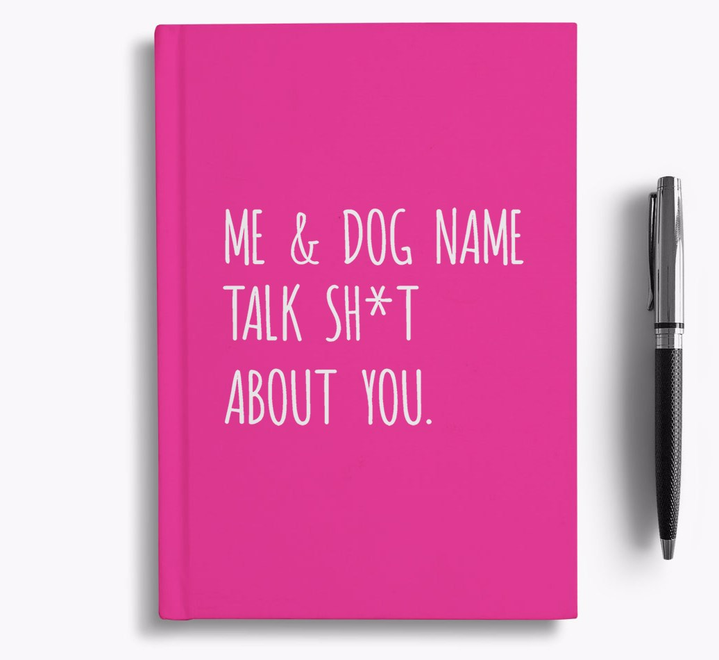 Notebook for Bedlington Terriers