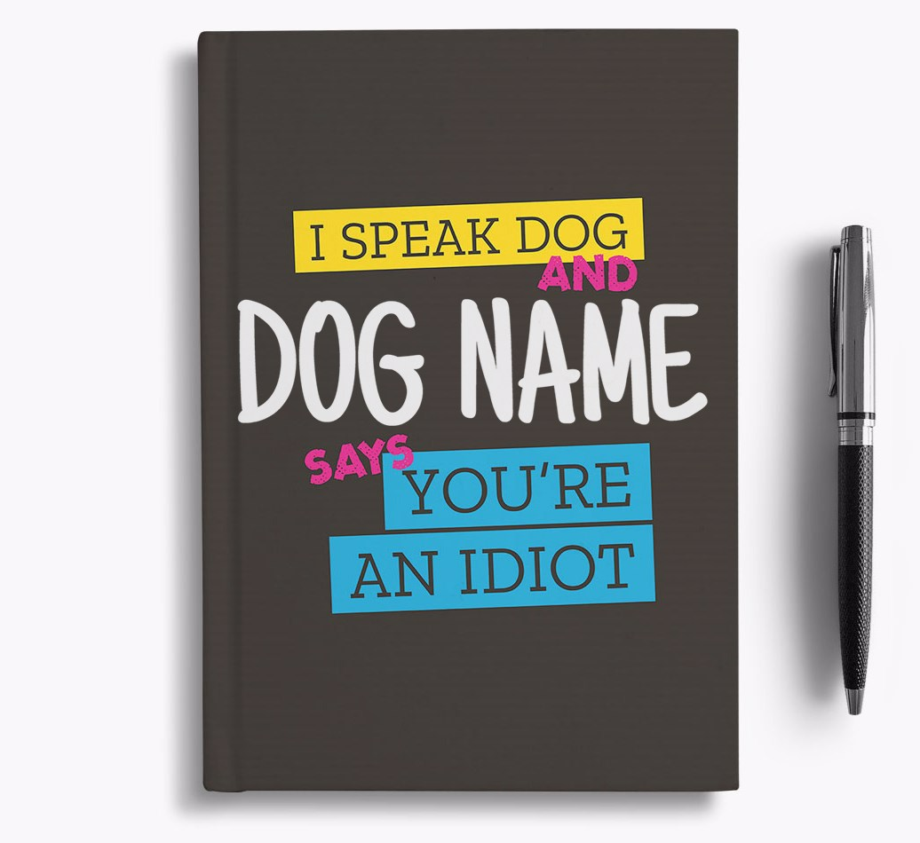 Notebook for Spanish Water Dogs