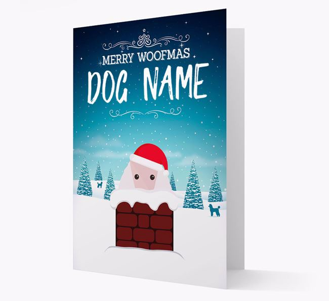Personalised Merry Woofmas  Christmas Card