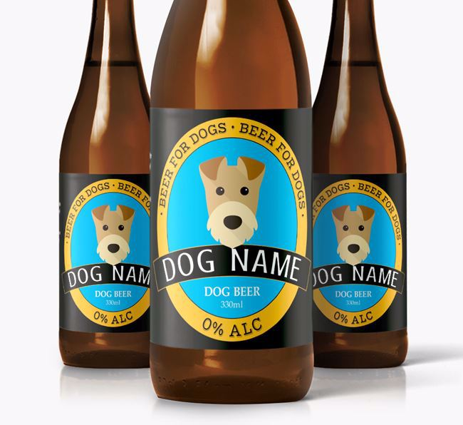 Personalised Airedale Beer For