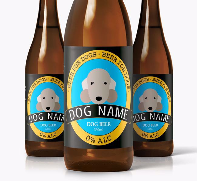 Personalised Bedlington Beer For