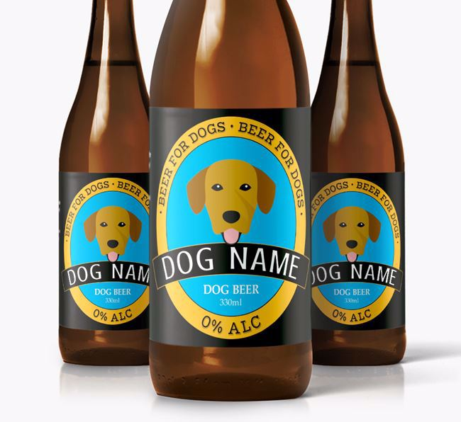 Personalised Springador Beer For
