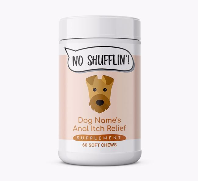 Anal Itch Relief Supplements for Airedale Terrier