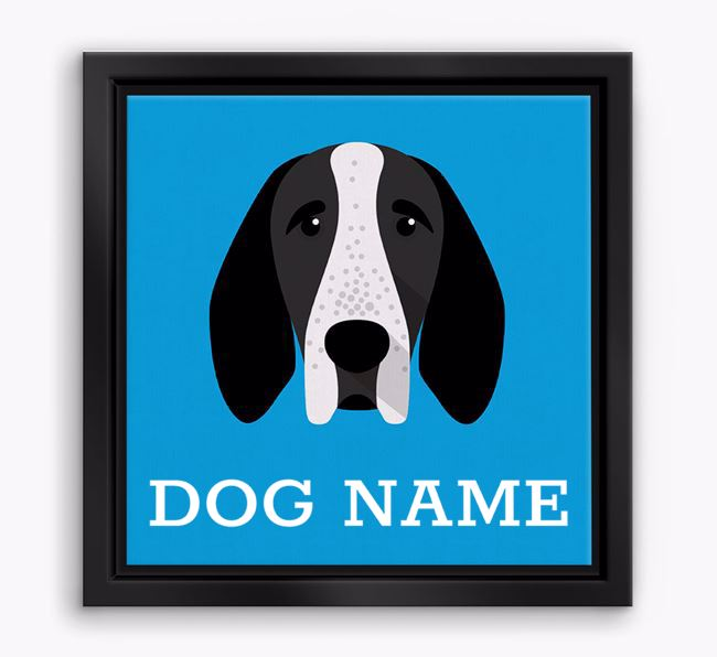 Personalised Yappicon Boxed Canvas Print