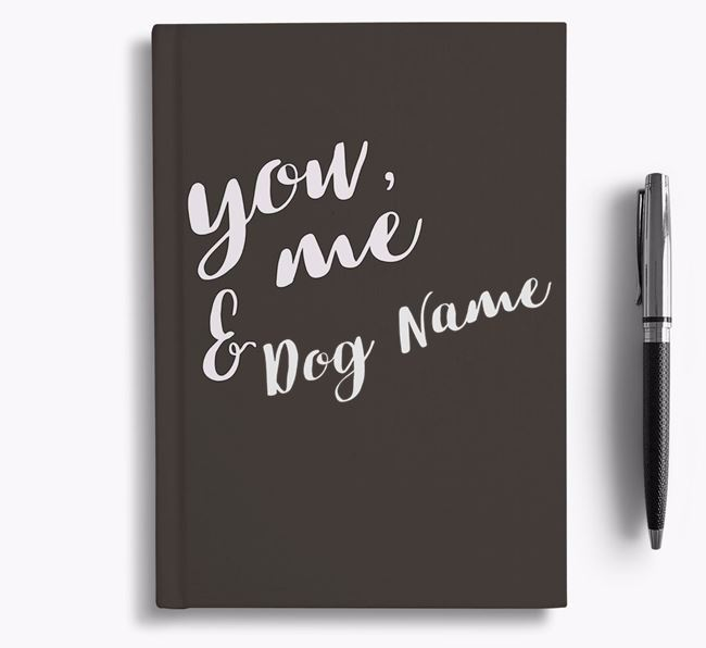 Personalized 'You, Me & ' Notebook