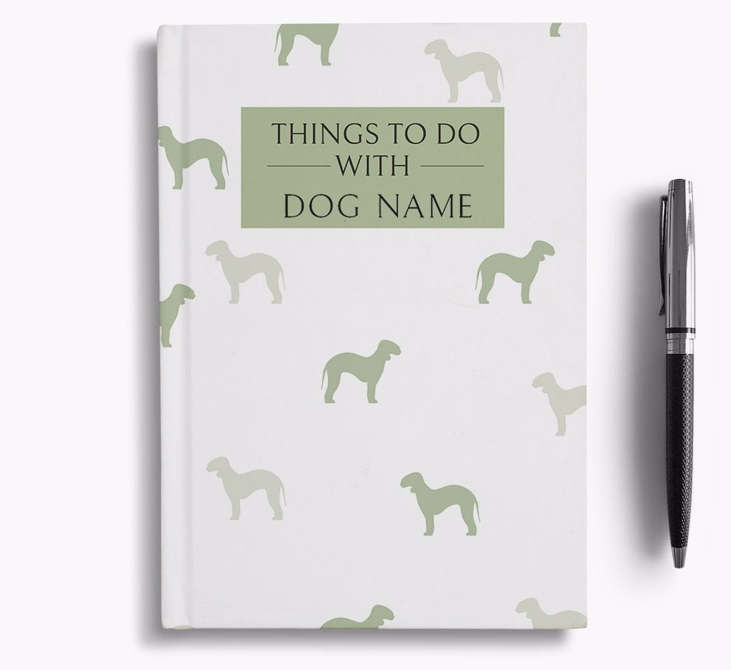 Personalised 'Things to do with {dogsName}' Notebook