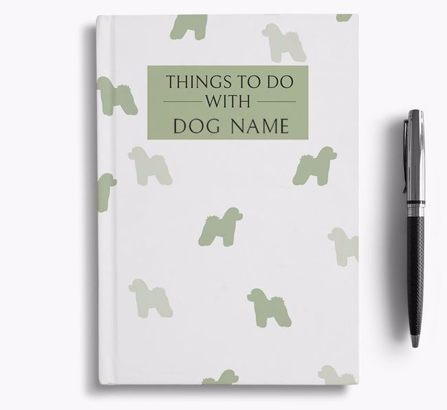 Personalised 'Things to do with ' Notebook