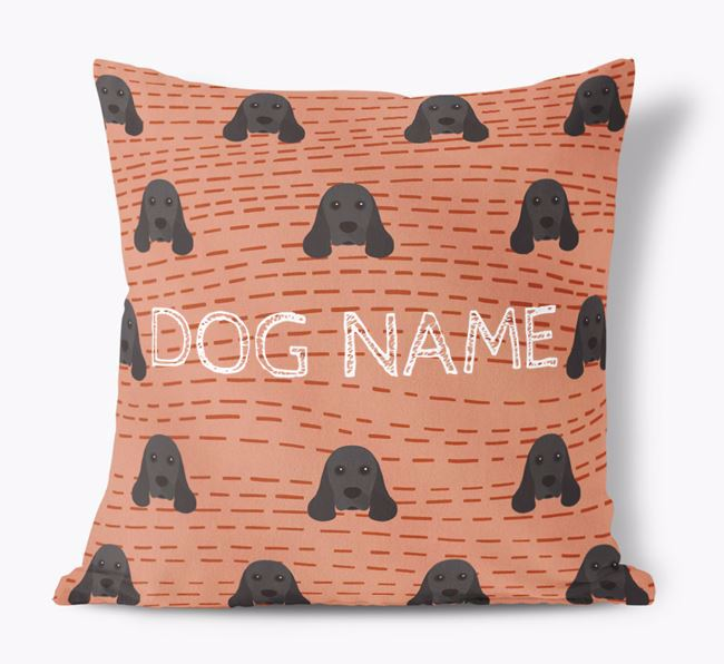 Personalised Icon Soft Touch Cushion