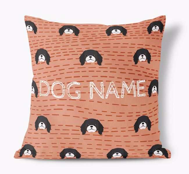 Personalized Icon Soft Touch Pillow