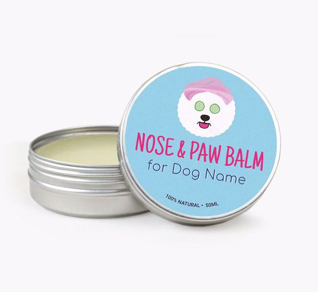 Personalised Nose & Paw Balm for your Bichon Frise