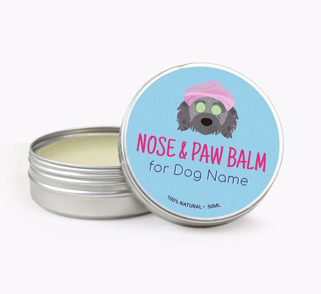 Personalised Nose & Paw Balm for your Doodle