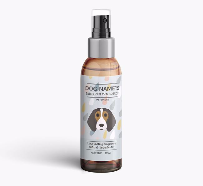Personalised 'Dirty Dog' Fragrance for your Beagle