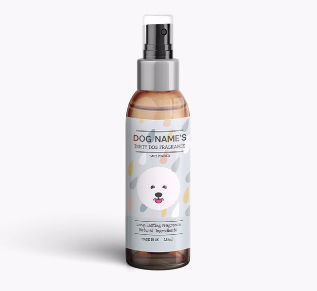Personalised 'Dirty Dog' Fragrance for your Bichon Frise