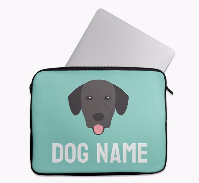 Personalised Bright & Bold Tech Pouch with Springador Icon