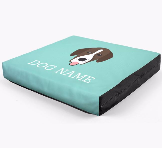 Personalised Icon Dog Bed for your Springador